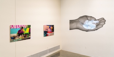 Exhibition: Weighted Adaptations (Left Wall)